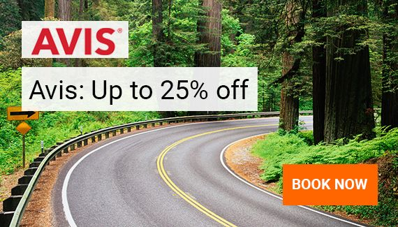 Avis: up to 25% off