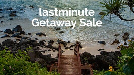 lastminute getaway sale