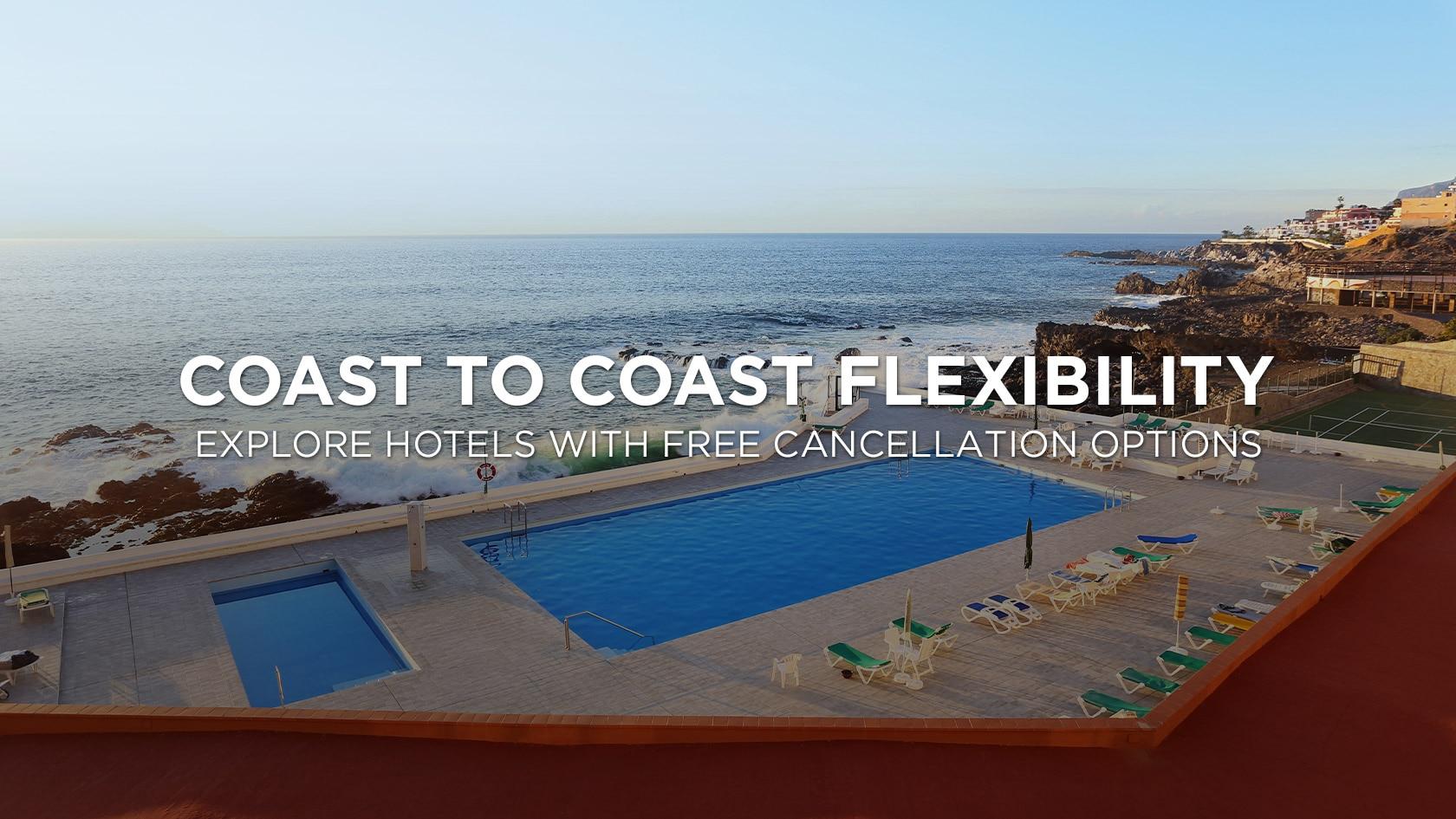 Travelocity.com: Coast to Coast Flexibility Explore Hotels