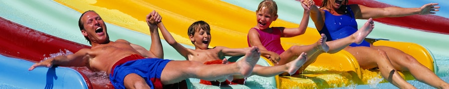 hotels with waterslide