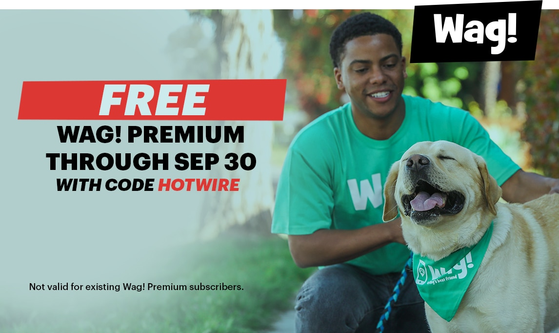 Wag! promotion